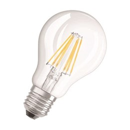 LED-Lampa Osram Retro Normal 4W E27 Klar 827