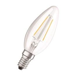 LED-Lampa Osram Retro Kron 4W E14 Klar 827