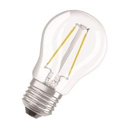 LED-Lampa Osram Retro Klot 2W E27 Klar 827