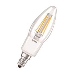 LED-Lampa Osram Retro Kron Dim E14 Klar 827 4.5W