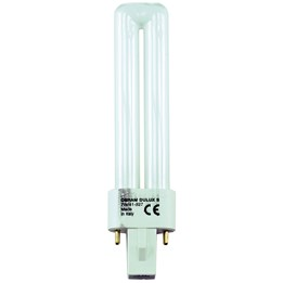 Kompaktlysrör 9W G23 2-Stav 2-Pin Kort Varmton 830