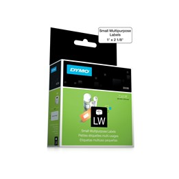 Etikett Dymo Lw 54x25mm Vit 500st/rl