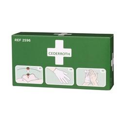 Skyddspaket Cederroth Inkl Mask/Handskar/Desinfektionsmedel