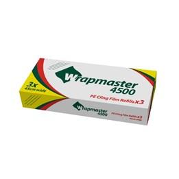 Plastfilm Wrapmaster PE 45cmx300m