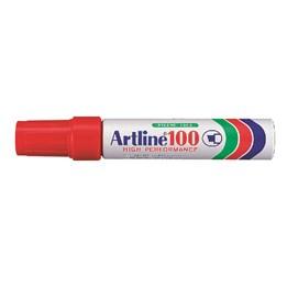 Textpenna Artline 100 7,5-12mm Röd