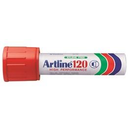 Textpenna Artline 120 20mm Röd