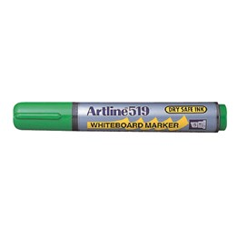 Whiteboardpenna Artline 519 2-5mm Grön