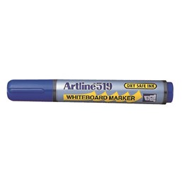 Whiteboardpenna Artline 519 2-5mm Blå