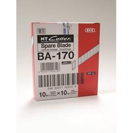 Knivblad NT-Cutter BA-170 Till Brytkniv Liten 10st/fp