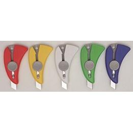 Brytkniv Liten Transparent NT-Cutter iA-120P Automatisk Låsning