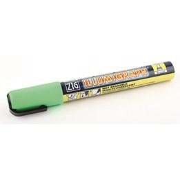 Tavelpenna Zig Illumigraph 6mm Grön