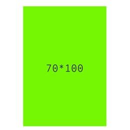 Textkartong 70x100cm Fl.Grön