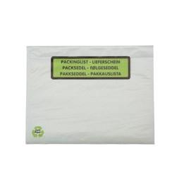 Packsedelskuvert Papper Med Tryck
