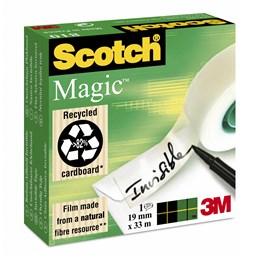 Dokumenttejp 19mm x 33m Scotch Magic