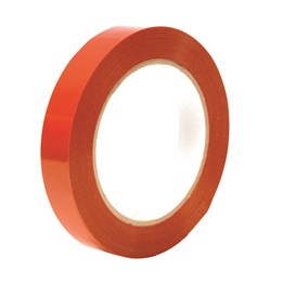 Bandningstejp 19mm x 66m Orange