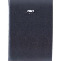 Almanacka Företagskalender Svart 1v/Uppslag