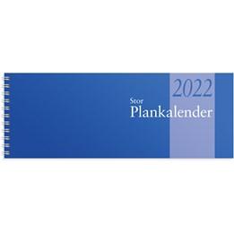 Almanacka Planeringskalender Stor Blå 1v/Uppslag