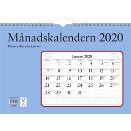 Almanacka Månadskalendern 1mån/Uppslag