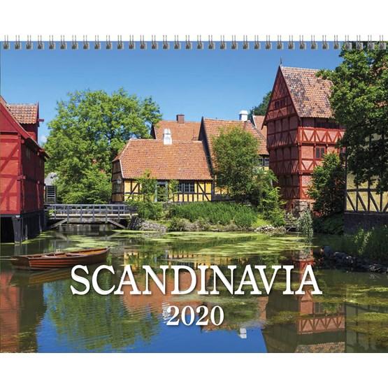 Väggkalender Scandinavia