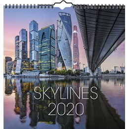 Väggkalender Skylines