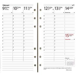 Almanacka Modell Regent Interplano Kalendersats